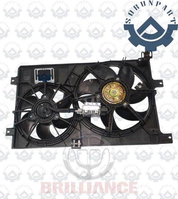 Brilliance H330 1650 Radiator Dual Fan Assembly