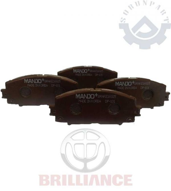 brilliance H220 front brake pad