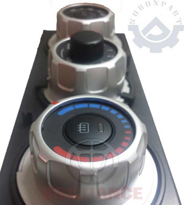 brilliance H220 heater control panel