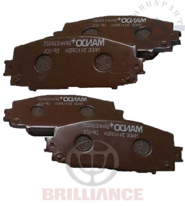 brilliance H230 front brake pad