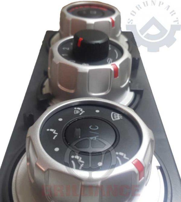 brilliance H230 heater control panel