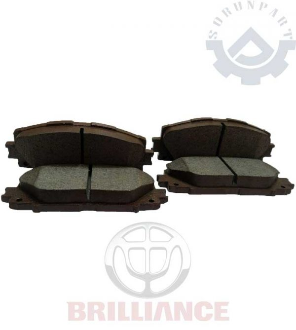 brilliance front brake pad
