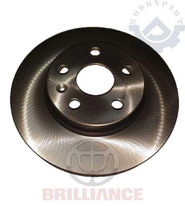 brilliance rear brake disk H200