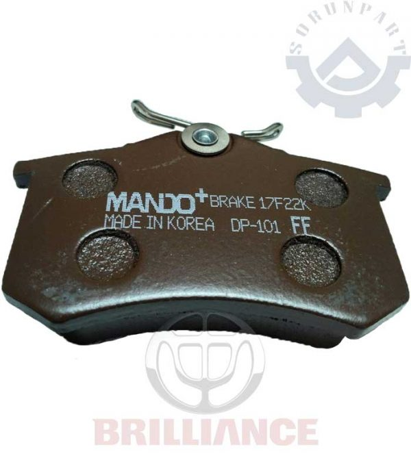 brilliance rear brake shoes