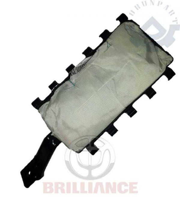 passenger side steering wheel airbag assembly